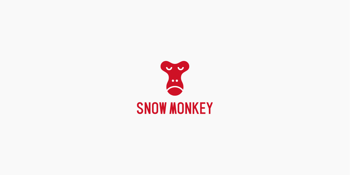 Snow monkey ロゴのアイキャッチ画像